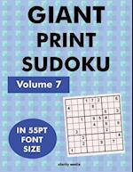 Giant Print Sudoku Volume 7