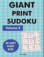 Giant Print Sudoku Volume 8