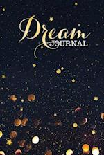 Dream Journal Gold Black