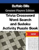 Buffalo Bills Trivia Crossword, Wordsearch and Sudoku Activity Puzzle Book