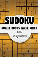 Sudoku Puzzle Books Large Print 365 Days
