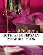 50th Anniversary Memory Book