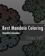 Best Mandala Coloring Book (Beautiful Relaxation)