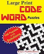 Large Print Codeword Puzzles