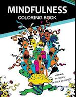 Mindfulness Coloring Books Animals Flowers Doodles Designs