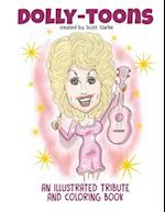 Dolly-Toons, Illustrated Tribute and Coloring Book