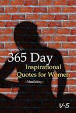 365 Day Inspirational Quotes for Women V.5