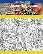 Jacksonville Jaguars Coloring Book Greatest Players Edition