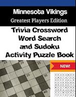 Minnesota Vikings Trivia Crossword, Wordsearch and Sudoku Activity Puzzle Book