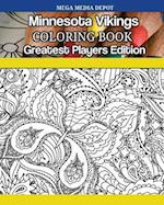 Minnesota Vikings Coloring Book Greatest Players Edition