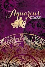Aquarius Zodiac Sign Horoscope Symbol Journal