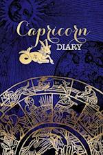 Capricorn Zodiac Sign Horoscope Symbol Journal