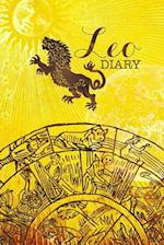 Leo Zodiac Sign Horoscope Symbol Journal