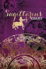 Sagittarius Zodiac Sign Horoscope Symbol Journal