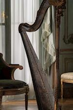 Beautiful Classical Harp on Stage Musical Instrument Journal
