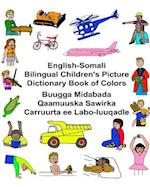 English-Somali Bilingual Children's Picture Dictionary Book of Colors