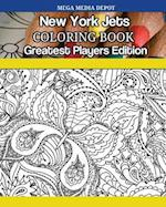 New York Jets Coloring Book Greatest Players Edition