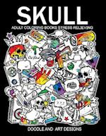 Skull Adults Coloring Books