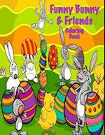 Funny Bunny & Friends Coloring Book