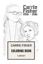 Carrie Fisher Coloring Book