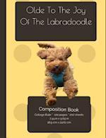Labradoodle Joy Composition Notebook