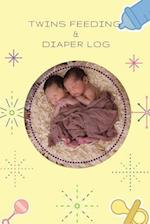 Twins Feeding and Diaper Log