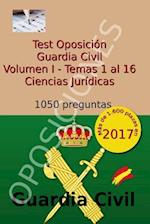 Test Oposicion Guardia Civil I