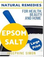 Epsom Salt ***Large Print Edition***