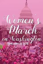 Women's March on Washington Blank Paperback Journal 6 X 9