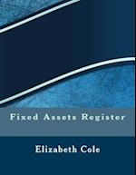 Fixed Assets Register