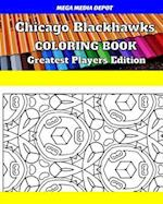 Chicago Blackhawks Coloring Book Greatest Players Edition