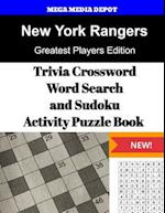 New York Rangers Trivia Crossword, Wordsearch and Sudoku Activity Puzzle Book