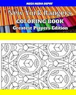 New York Rangers Coloring Book Greatest Players Edition
