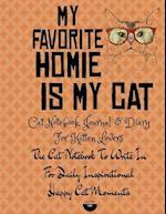 Cat Notebook, Journal & Diary for Kitten Lovers