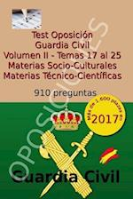 Test Oposicion Guardia Civil II