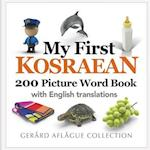 My First Kosraean 200 Picture Word Book