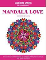 Mandala Love Coloring Book