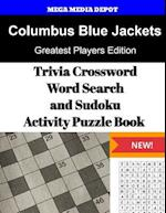 Columbus Blue Jackets Trivia Crossword, Wordsearch and Sudoku Activity Puzzle Bo
