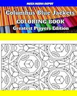 Columbus Blue Jackets Coloring Book Greatest Players Edition