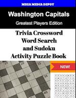 Washington Capitals Trivia Crossword, Wordsearch and Sudoku Activity Puzzle Book