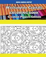 Washington Capitals Coloring Book Greatest Players Edition