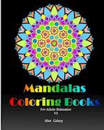 Mandalas Coloring Books Adults Relaxation V.3