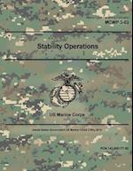 Marine Corps Warfighting Publication McWp 3-03 US Marine Corps Stability Operations 16 December 2016