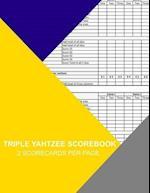 Triple Yahtzee Scorebook