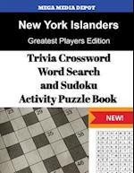 New York Islanders Trivia Crossword, Wordsearch and Sudoku Activity Puzzle Book