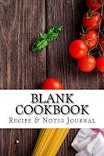 Blank Cookbook