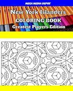 New York Islanders Coloring Book Greatest Players Edition