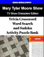 Mary Tyler Moore Show, Trivia Crossword, Wordsearch and Sudoku Activity Puzzle