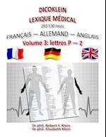 Dicoklein Lexique Medical Vol.3