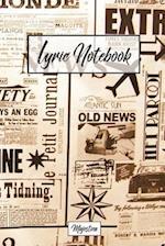 Lyric Notebook